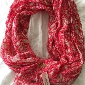 NWOT Juicy Couture Summer Scarf Pink